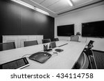 business meeting room or board... | Shutterstock . vector #434114758