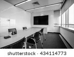 business meeting room or board... | Shutterstock . vector #434114773