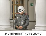 quito  ecuador  october   2015  ... | Shutterstock . vector #434118040