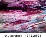 no signal television screen... | Shutterstock . vector #434118916