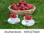 Strawberries In A Basket And I...