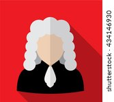 judge icon | Shutterstock .eps vector #434146930