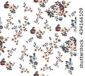 floral pattern | Shutterstock .eps vector #434166109