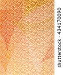 leopard skin texture for... | Shutterstock . vector #434170090