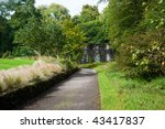 armadale castle garden on the... | Shutterstock . vector #43417837