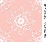 floral vector ornament.... | Shutterstock .eps vector #434181760