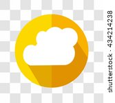 cloud icon. weather forecast.