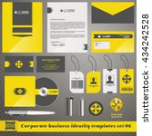vector corporate identity... | Shutterstock .eps vector #434242528