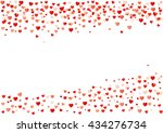 colorful background with heart... | Shutterstock .eps vector #434276734