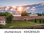 a cloud over the kremlin in... | Shutterstock . vector #434285620