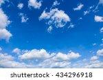 Clouds In  Blue Sky  Blue Sky...
