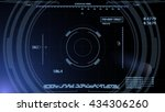 futuristic vector computer... | Shutterstock .eps vector #434306260