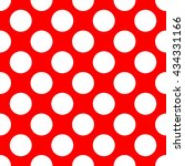 seamless polka dot pattern....   Shutterstock .eps vector #434331166