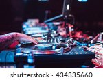moscow 2 may 2016 club party dj ... | Shutterstock . vector #434335660