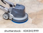 carpets chemical cleaning with... | Shutterstock . vector #434341999