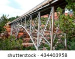 midgley bridge   north side... | Shutterstock . vector #434403958