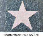a big star on the ground | Shutterstock . vector #434427778