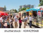 denver  colorado  usa june 9 ... | Shutterstock . vector #434429068
