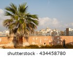 evening in the town of trapani  ... | Shutterstock . vector #434458780