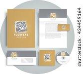 corporate identity design... | Shutterstock .eps vector #434459164