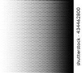 halftone illustration. halftone ... | Shutterstock .eps vector #434462800