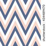 vector zig zag pattern  | Shutterstock .eps vector #434489470