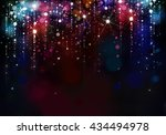 colorful lights background. | Shutterstock . vector #434494978