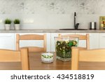 interior of a living room | Shutterstock . vector #434518819