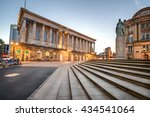 Birmingham Town Hall is situated in Victoria Square, Birmingham, England.