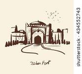 Bidar Fort Is Situated In Bida...
