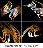 abstract background | Shutterstock .eps vector #43457149