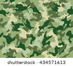 camouflage seamless pattern...   Shutterstock .eps vector #434571613
