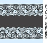 lace seamless pattern | Shutterstock .eps vector #434597398