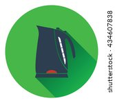 kitchen electric kettle icon....