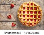 Traditional Strawberry Pie Tar...