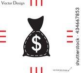 bag with money icon