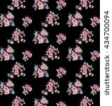 flower pattern | Shutterstock . vector #434700094