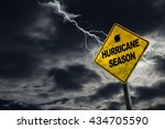 Hurricane Season With Symbol...
