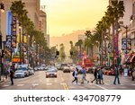 los angeles  california   march ... | Shutterstock . vector #434708779