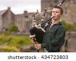 dornie  scotland   august 24 ... | Shutterstock . vector #434723803