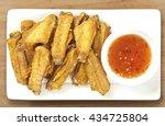 fried chicken wings | Shutterstock . vector #434725804