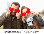 picture of romantic couple... | Shutterstock . vector #434746594