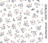 seamless floral pattern | Shutterstock .eps vector #434757850