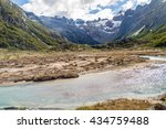 creek in tierra del fuego ...   Shutterstock . vector #434759488