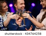 party  holidays  celebration ... | Shutterstock . vector #434764258