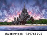 Sanctuary Of Truth Temple...