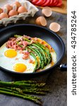 Fried Eggs With Asparagus And...