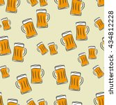 Vector Beer Seamless Pattern....