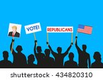 june 5  2016  a vector... | Shutterstock .eps vector #434820310