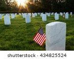 Memorial Day American Flag In...